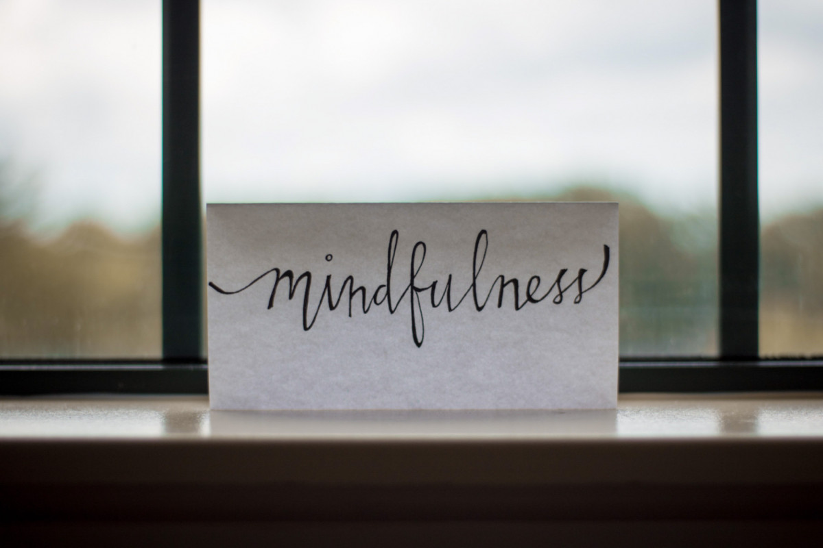 Decrease stress. Tips for mindfulness and meditation