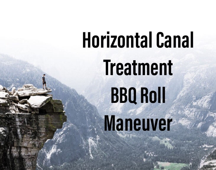 Horizontal Canal Treatment - BBQ Roll