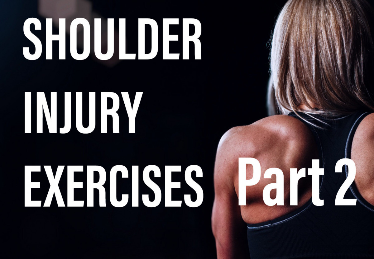 Shoulder exercises for shoulder injuries