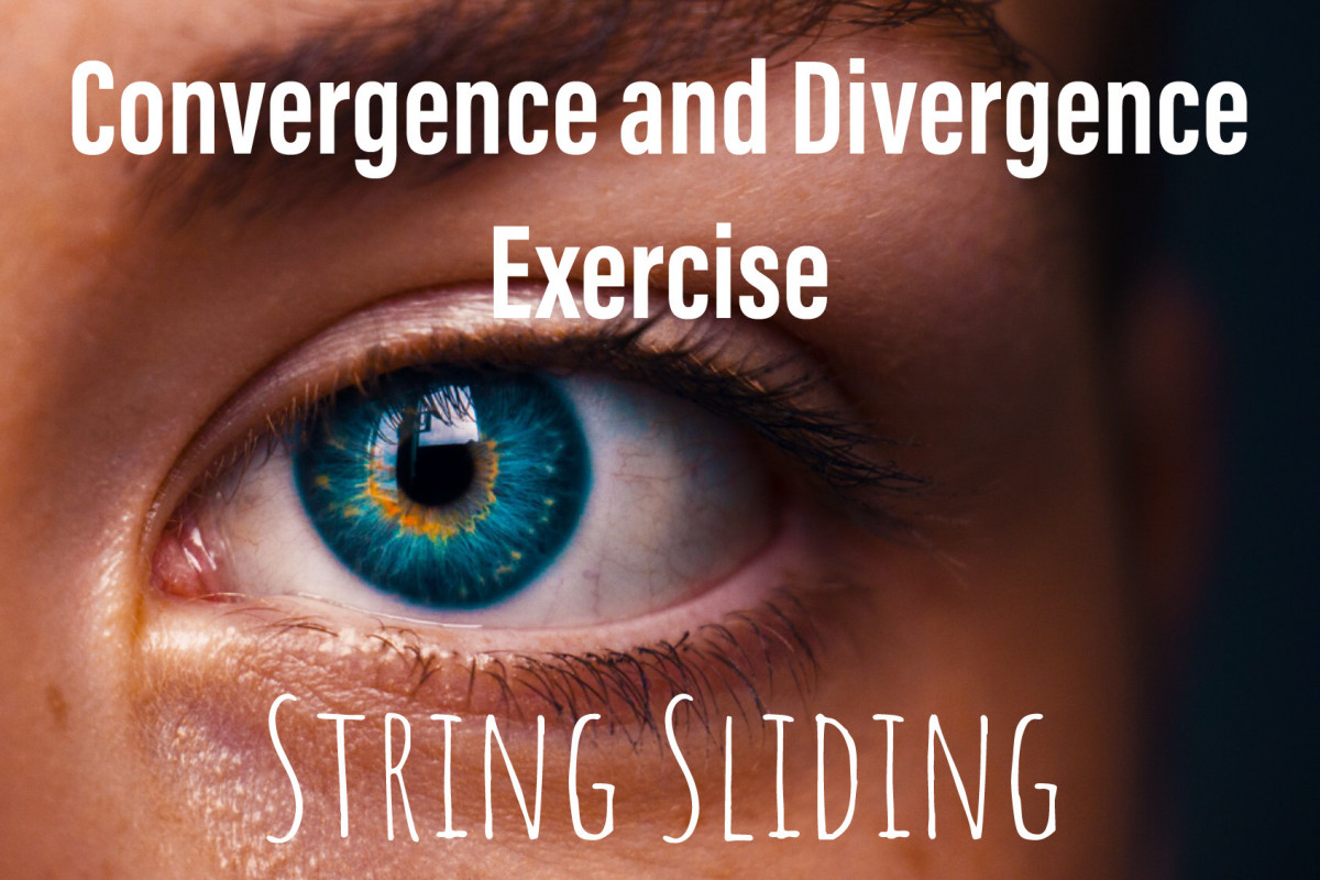 Vision Exercises, convergence and divergence