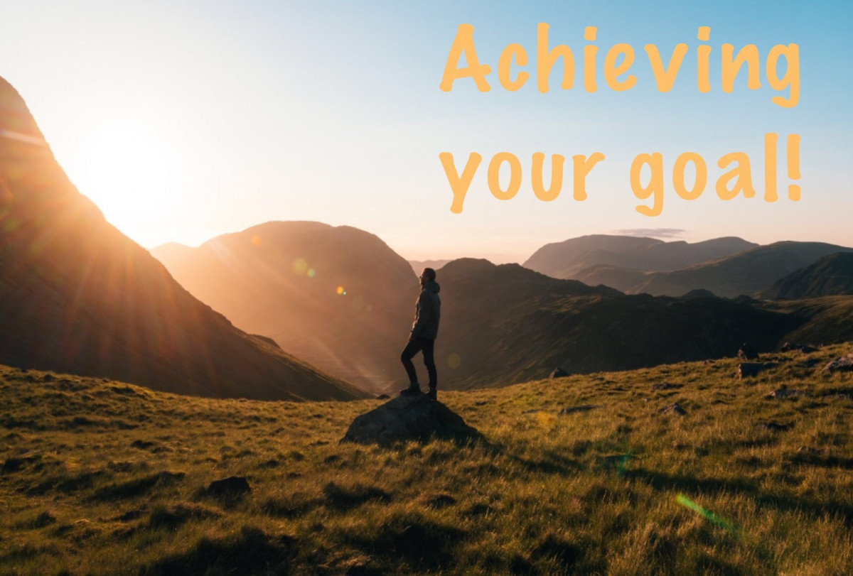 Double your success in achieving your goal!