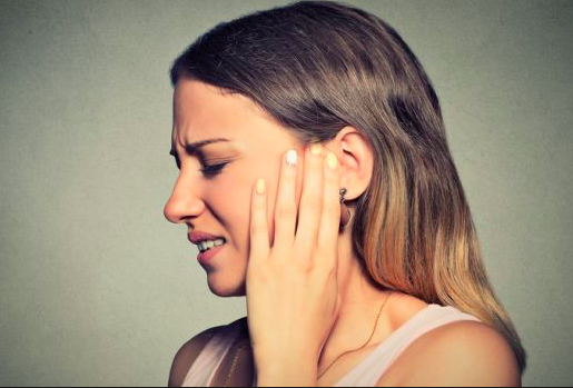 Ear pain or pressure