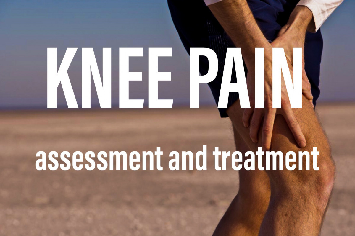 How to assess and treat knee pain