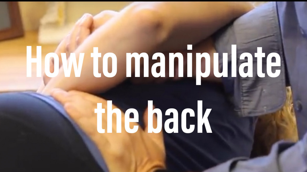 How to manipulate the lower back