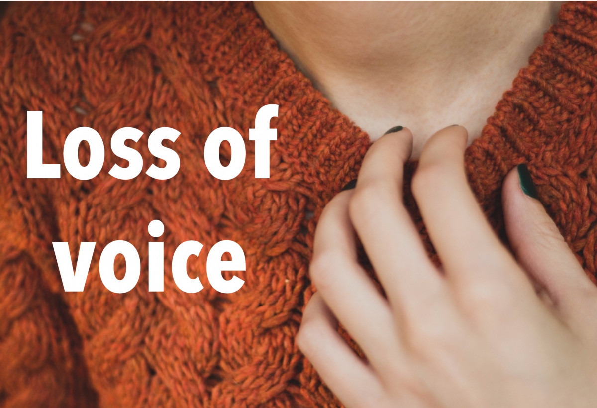Loss of voice and hoarseness