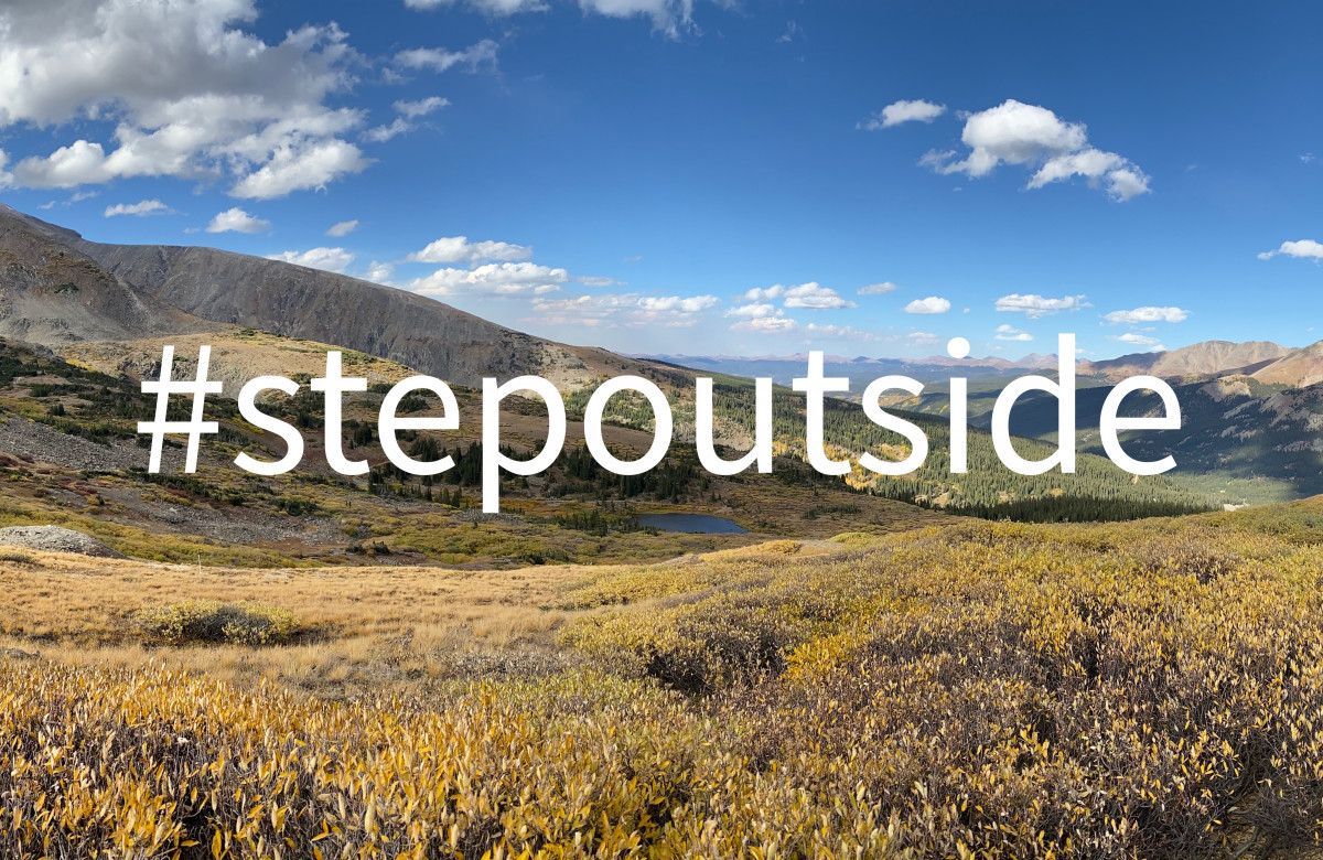 #stepoutside Improve your productivity by taking a nature break.